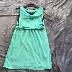 Kenneth Cole Satin Wrap Dress XS